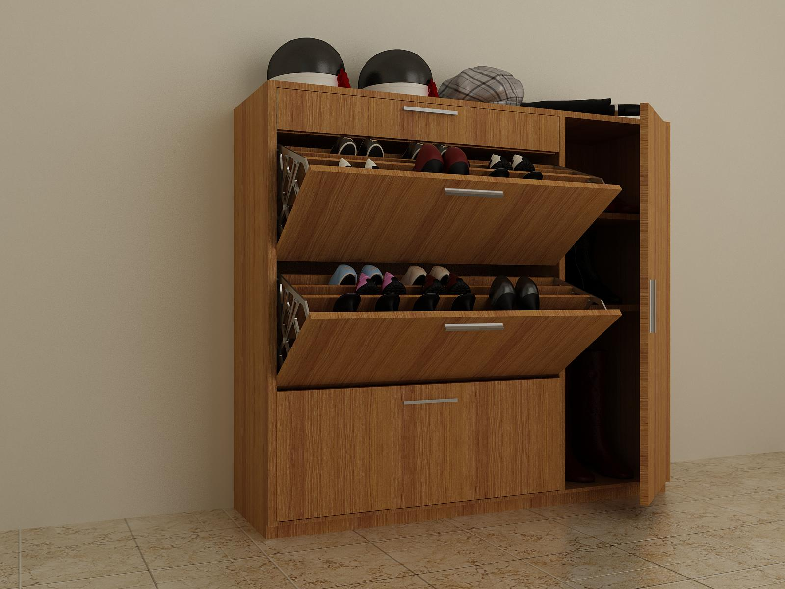 Sử dụng và bảo quản tủ để giầy đúng cách